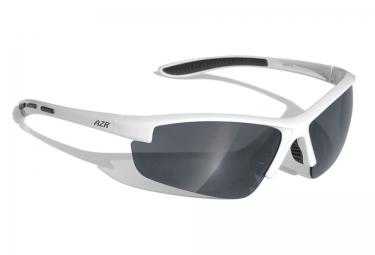 lunettes azr riders blanc noir iridium