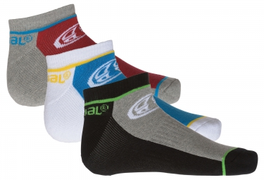 x3 Paires de Chaussettes ANIMAL FINITE Multi-Couleur