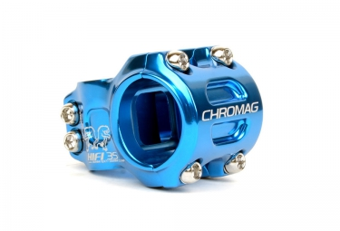 potence vtt chromag hi fi 35 bleu 35