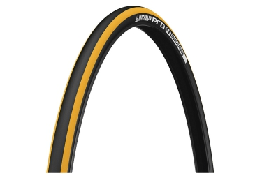 pneu michelin pro4 endurance 700mm tringle souple jaune 23 mm