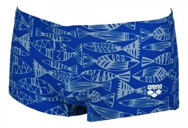 Maillot de Bain ARENA FISK LOW WAIST Bleu