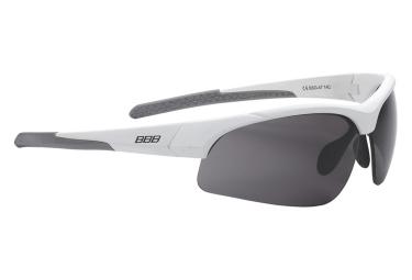 lunettes de cyclisme bbb imprress blanc noir