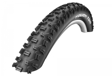 Pneu SCHWALBE TOUGH TOM 27.5'' TubeType Rigide LiteSkin SBC K-Guard Noir