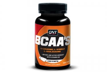 QNT Complément alimentaire BCAA + VITAMINES B-6 100 géllules