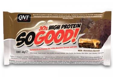 QNT Barre Hyperprotéinée SO GOOD Chocolat au lait Caramel 60gr