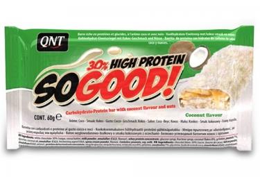 QNT Barre Hyperprotéinée SO GOOD Chocolat Blanc Noix de coco 60gr