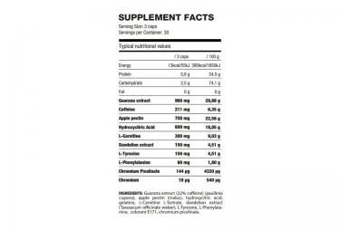 QNT Complément alimentaire BURNER 90 géllules