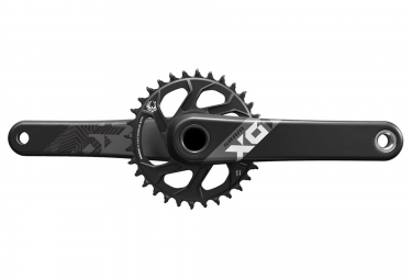 Guarnitura SRAM X01 EAGLE Boost con corona Direct Mount 32 denti BB30 non inclusa Nera