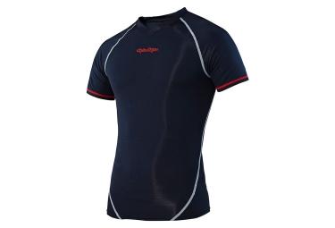 Sous maillot manches courtes troy lee designs ace bleu xl