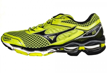 9a8fe54f475a MIZUNO Shoes WAVE CREATION 18 Yellow Black Men | Alltricks.com