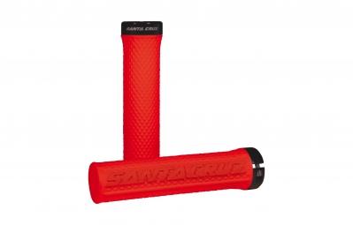 SANTA CRUZ Grips ONE Lock-on Rouge