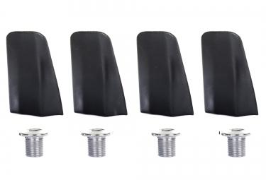 caches et visserie x4 specialites ta pour plateaux x110 105 5800 noir