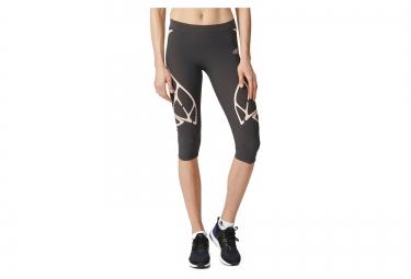 corsaire running femme adidas adizero sprintweb gris rose m