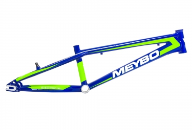 cadre bmx race meybo holeshot bleu vert pro