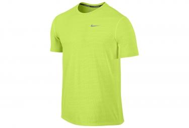 NIKE DRY CONTOUR Men Shirt Yellow