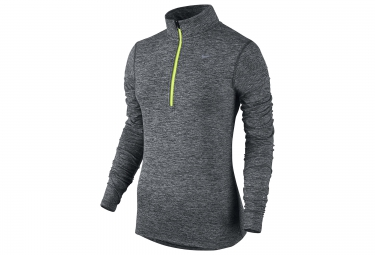 Sweat Femme NIKE DRY ELEMENT Gris