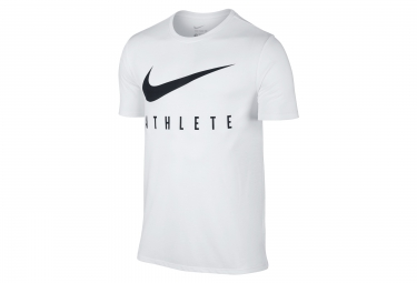 Maillot homme nike dry swoosh athlete training blanc xl