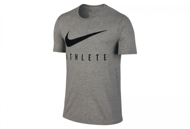 maillot homme nike dry swoosh athlete training gris xl