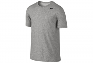 Maillot manches courtes nike dry training homme gris m