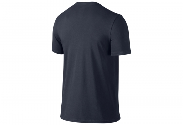 maillot manches courtes nike dry training bleu s