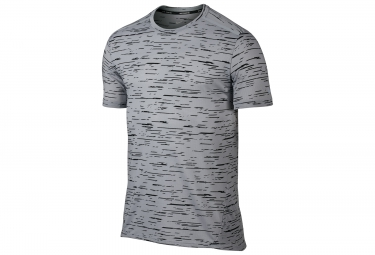Maillot nike dry tailwind gris xl