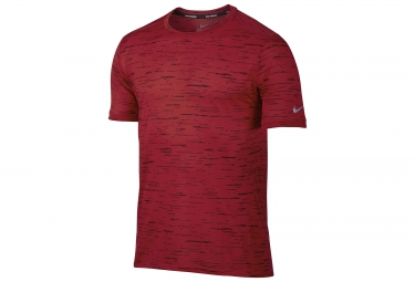 Maillot nike dry tailwind rouge xl