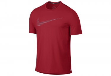 Maillot nike dry contour rouge xl