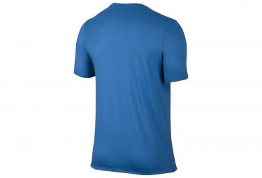 t shirt nike running bleu xl