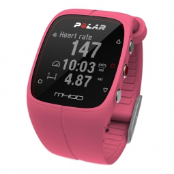 Montre GPS Polar M400 GPS HR Rose
