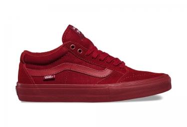 chaussures vans tnt sg rouge 44 1 2