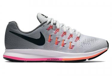 best sneakers 34e45 3827f Chaussures de Running Femme Nike AIR ZOOM PEGASUS 33 Gris   Rose