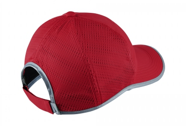 casquette de running nike featherlight rouge