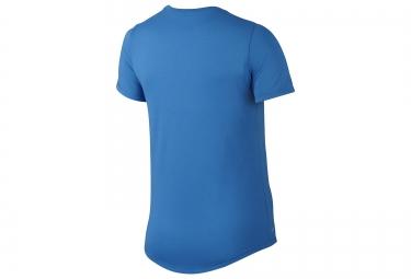t shirt femme nike running bleu s