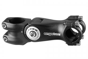 ERGOTEC OCTOPUS 2 Adjustable Stem -10/60° 31.6mm Black