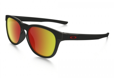oakley stringer sunglasses mat black ruby iridium ref oo9315 09