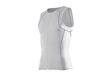 2xu maillot triathlon sans manches de compression g 2 active tri singlet blanc s