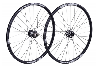 SPANK Wheelset SPIKE SPIKE RACE28 BEAD 27.5'' Front 20x110mm | Rear 12x150mm Black