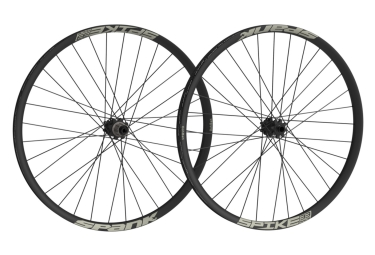 SPANK Wheelset SPIKE SPIKE RACE28 BEAD 26'' Front 20x110mm | Rear 12x135mm Black