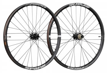 SPANK Wheelset OOZY TRAIL345 27.5'' Front 15x100mm | Rear 12x142mm Black