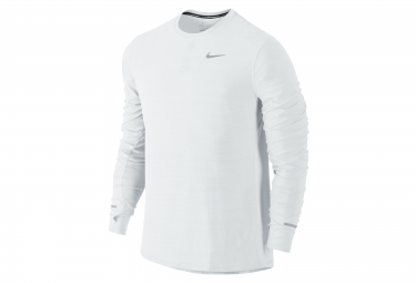 maillot homme nike dry contour blanc xl