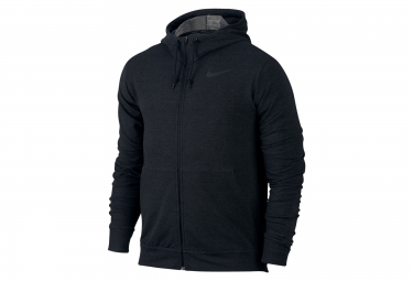 Sweat a capuche homme nike dry training noir xl