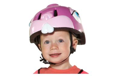 CRAZY SAFETY 2016 Casque Enfant LAPIN Rose (49-55) 3 à 6 ans