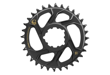 SRAM X-SYNC EAGLE Direct Mount Chainring, 3mm Offset 12 Speed, Black Gold