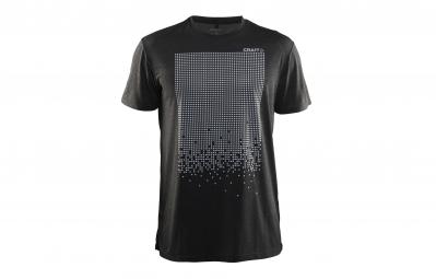 T shirt craft reflective noir s