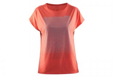 maillot femme craft mind orange l