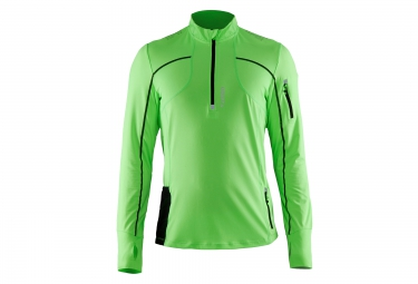 Maillot manches longues craft trail vert l