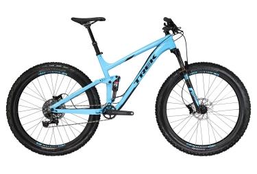 Vtt fatbike tout suspendu trek farley ex 8 27 5 2018 sram gx 11v bleu 17 5 pouces 16