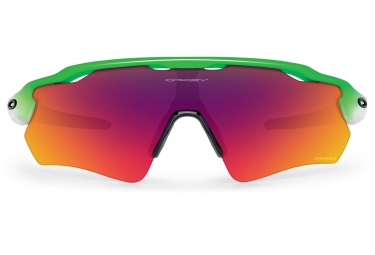 Lunettes Oakley RADAR EV PATH PRIZM ROAD Edition Olympique white/green red Prizm Road
