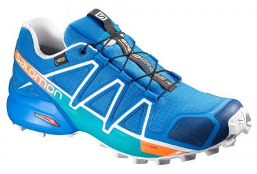 salomon speedcross 4 gtx bleu 45 1 3