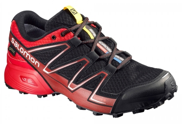 salomon speedcross vario gtx noir rouge 44 2 3